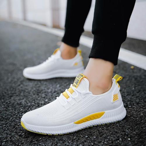 Men Fashion Color Matching Breathable Sneakers
