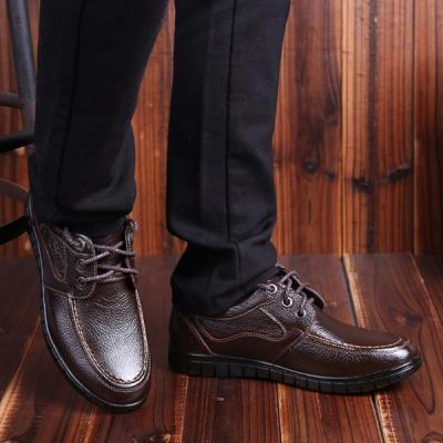 Mens Fashion Lace Up Driving Shoes Flat Shoes