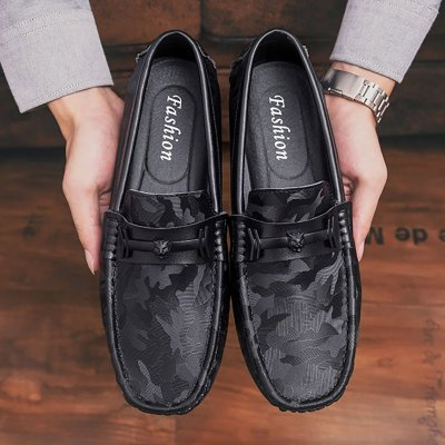 Men's Casual Leather Leather Shoes