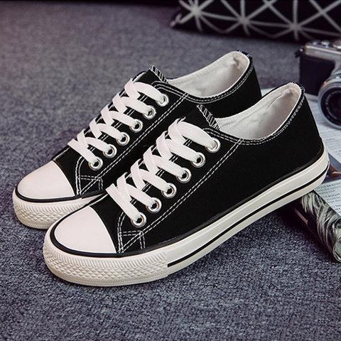 Women Stylish Slip-On Casual  Round Toe Lace Up Sneakers