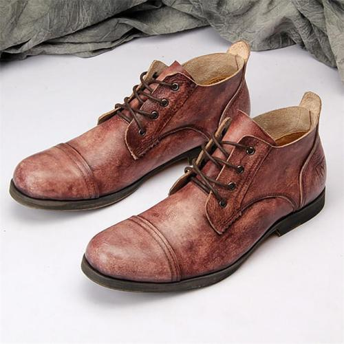 Men's vintage color boots