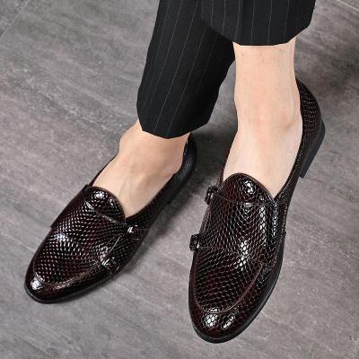 Slip-On Formal Dress Leather Shoes Fashion High Quality Flats Loafers