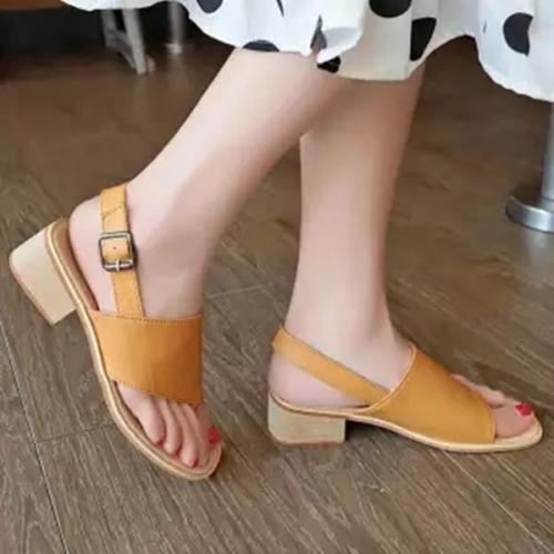 Women Summer Fashion Thick Sandals