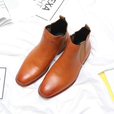 Fashion sleeve bee embroidered Martin boots casual men's shoes