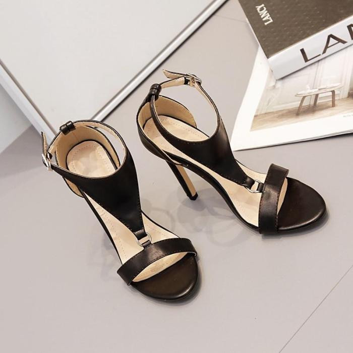 The new sandals women peep-toe heels brown shoes