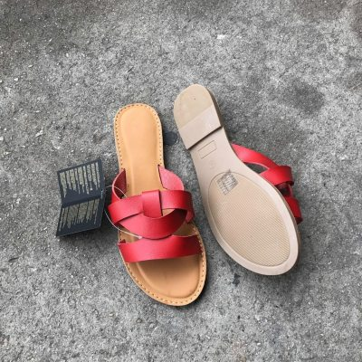 Flat with Open Toe Casual Women's Slippers Outside Summer Beach Slippers Women Cool Shoes