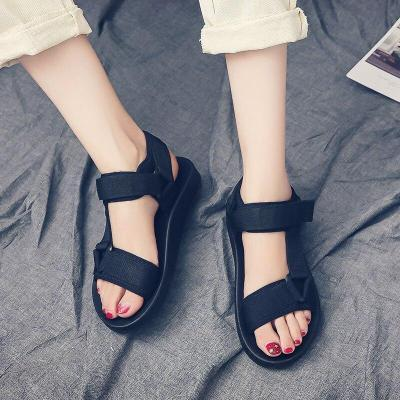 Summer Sandals Women Flats Casual Open Toe Shoes Soft Bottom Gladiator Sandals Rome Style Ladies Beach