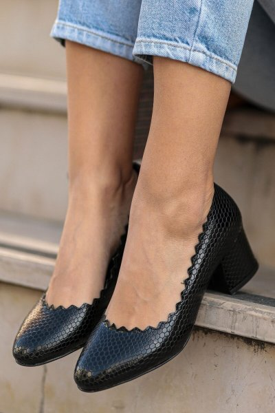 Fashion Heeled Shoes