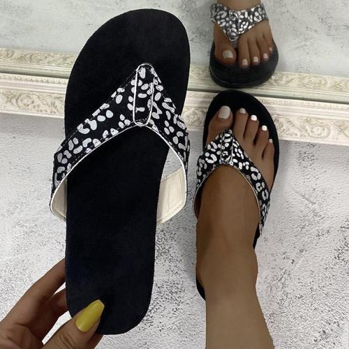 2020 Summer New Women's Beach Slippers Flat Sandals Open Toe Outdoor Flat Shoes