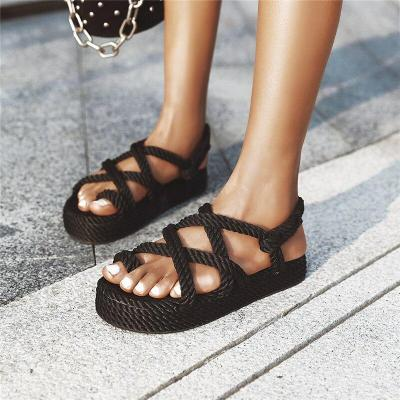 Female Beach Shoes Wedge Shoes Falts Comfortable Platform Sandals Sandalia Summer Women Gladiator Sandals