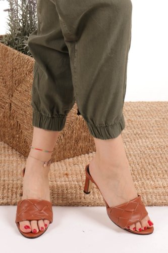 High Heel Slippers Outfit Fashion Casual