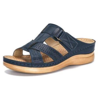 Wedge Heel Slip-On Flip Flop Rubber Slippers