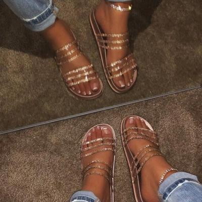 Flip Flop Flat With Slip-On PVC Slippers