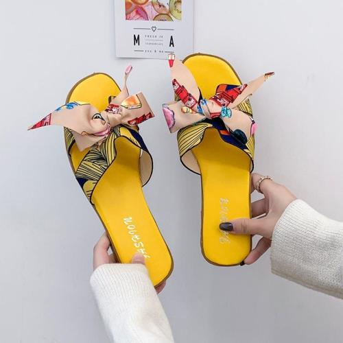 Summer New Flat Cool Women Wear Cozy Beach Slippers Holiday Shoes