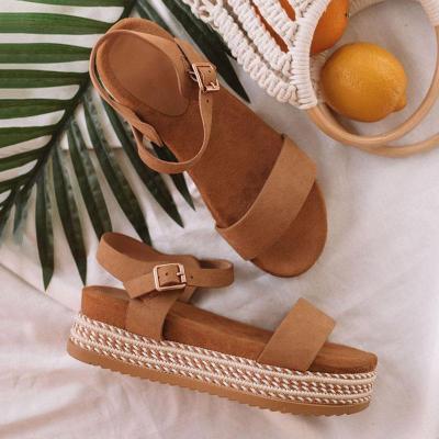 Summer Women Shoes Platform Sandals Thick Bottom Ladies Sandals Peep Toe