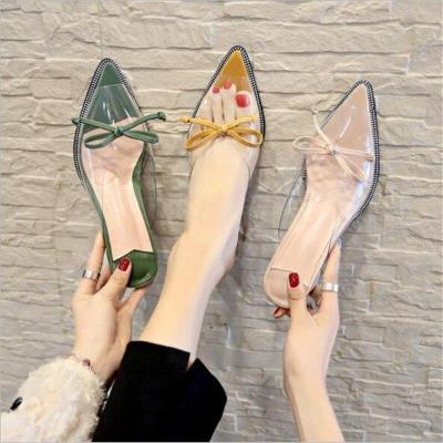 Fashion Female Slippers Women's High Heels Shoes Woman Outside Slippers