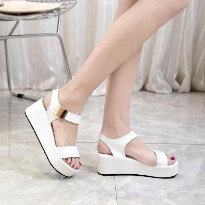 High Heel Wedge Sandals Women Summer Fashion Roman Women's Shoes