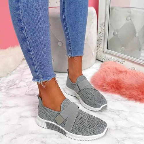 New 2020 Sneaker for Women Shoe Female Knitted Mesh Low-top Ladies Running Shoe Women's Sport Shoes Size