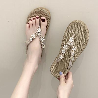 People Summer Slippers Female Outside Wearing Beach Shoes Women's Summer