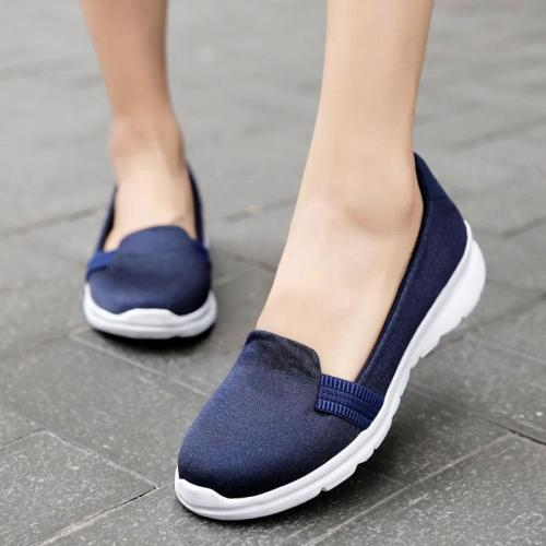 Flat Shoes Women Fashion Slip on For Flats Ladies Loafers Casual Lightweight Breathable Mesh Walking Shoes Femme