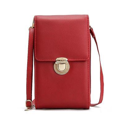 Women Wallet Cell Wallet Big Card Holders Wallet Handbag Purse Clutch Messenger Female Shoulder Straps Bags