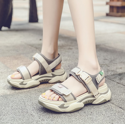 Summer Women Platform Sandals Chunky Shoes Brand Casual Shoes Woman