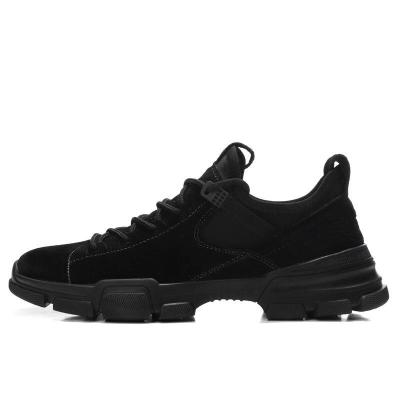 Man Leather Sneakers Fashion Spring Autumn Male Casual Shoes Suede Leather Footwear clax Men's Walking Shoe