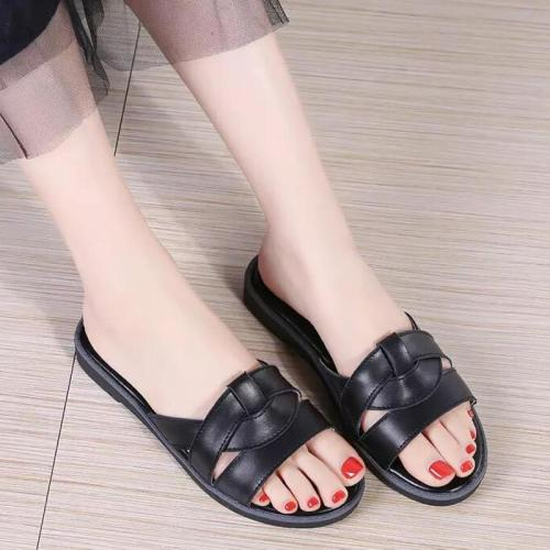 Women Mixed Color Rome Gladitor Slipper Summer Beach Flip Flops Outdoor Open Toe  Slipper Casual Shoes