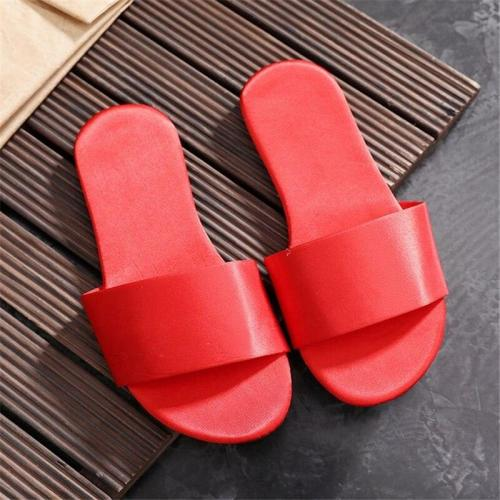 Flat Comfortable Home Slippers Women's Indoor Non-slip Slippers Soft Bottom Summer Home Flat Sandals