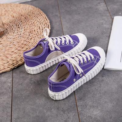 2020 Spring Shoes Women's Shoes Retro Canvas Shoes