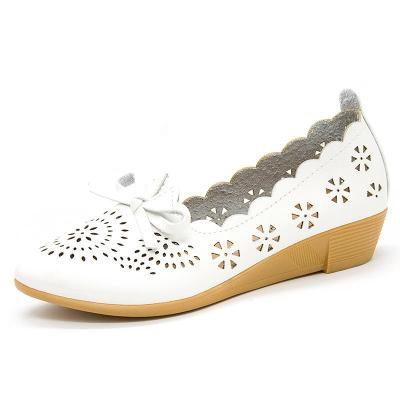 Soft Shoes Hollow Wedges for Women
