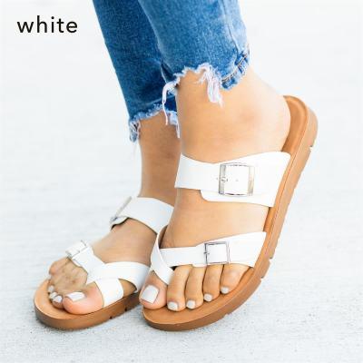 Summer Women Sandals Flsts Ladies Platform Wedge Slides Beach Shoes