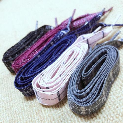Wide Flat British Style Shoelaces Women Linen Laces Sneaker Sport Shoeslace