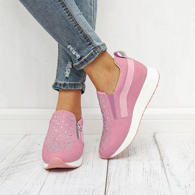Women Flat Sneakers Casual Flat Ladies Shoes Style  Non-slip Breathable Outdoor Shoes