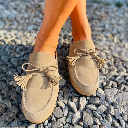 Women's Summer Tassels Fringe Shoes  Open Toe Ladies Footwear Comfortable