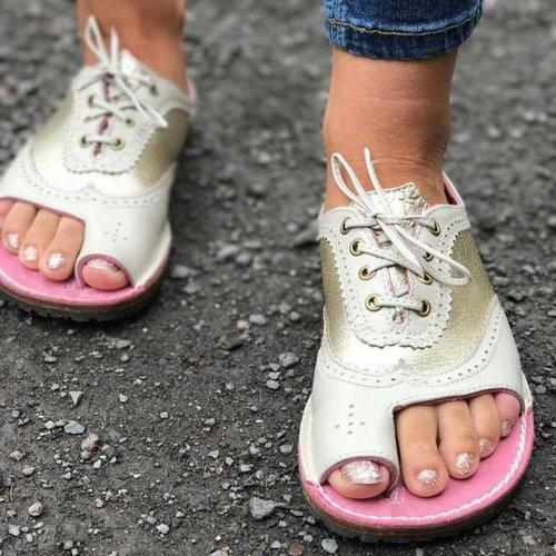 Summer Sandals Women Comfortable Soft Bottom Flats Shoes Leisure Outdoor Beach Shoes Women Size