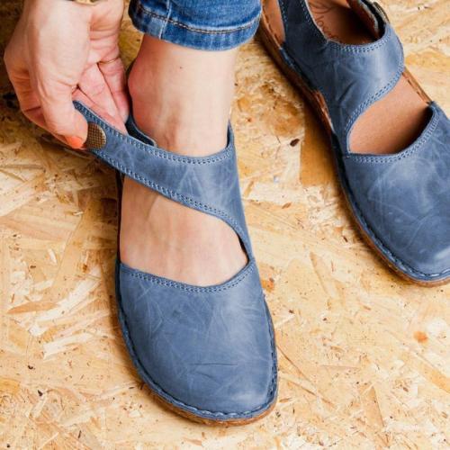 Women's Casual Buckle Flat Sandals