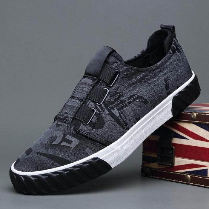 2020 New Casual Loafer Shoes Men's Fashion All-match Vulcanize Shoes Breathable Low-Cut Men's Canvas Sneaker Flat