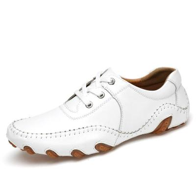 Anti-slip Leather Golf Shoes Sneakers Men Outdoor Lightweight  Sneakers Breathable Sport Shoes