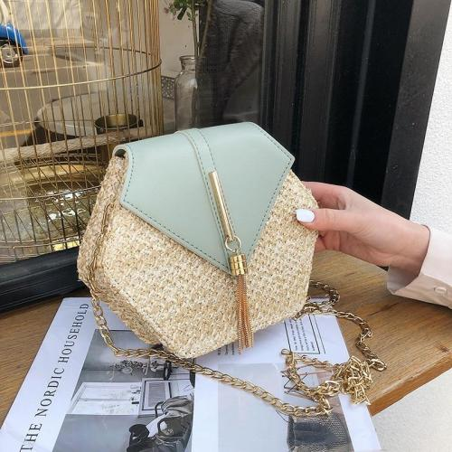 Handbag Women Handmade Woven Beach Circle Bohemia Shoulder Bag New Fashion