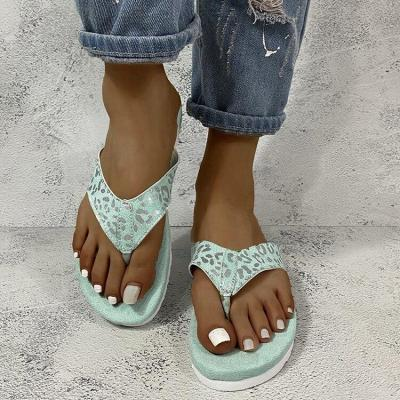 2020 Summer New Women's Beach Slippers Flat Sandals Open Toe Outdoor Flat Shoes Comfortable Plus Size 35-44