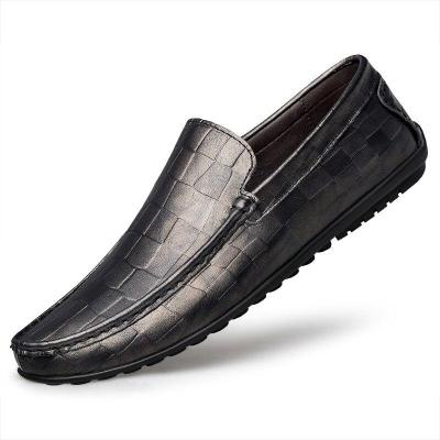 Mans Boat Shoes Design Men's Shoe Genuine Leather Loafers Summer Autumn Male Flats Casual Footweart