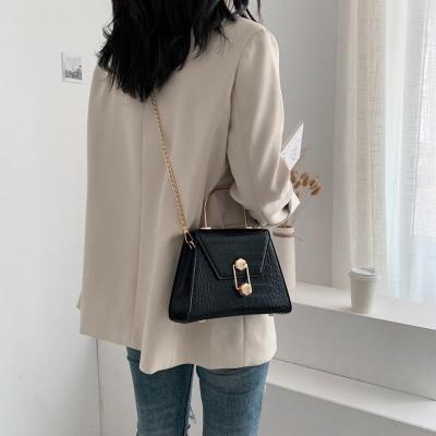 Stone Pattern PU Leather Crossbody Bags For Women Lady Shoulder Messenger Bag Handbags