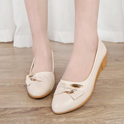 Women's Shoes Slope Heel Comfortable Shoes Fashionable Round Head