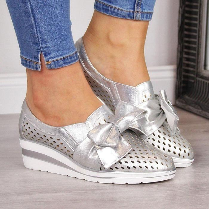 Women's Cute Bowknot Sneakers For Summer