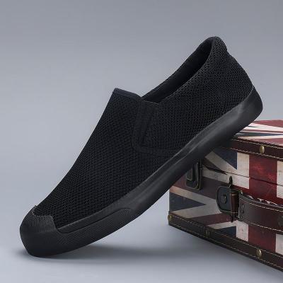 Men's Casual Shoes Fashion Men's Comfortable Slip-on Light Shoes Breathable Men's Vulcanized Shoes Loafers