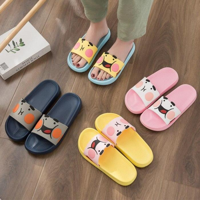 Summer Shoes Woman Men Home Slippers Style Lovers Bathroom Slipper Female Indoor