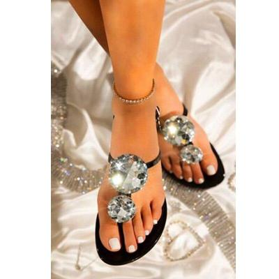 Summer New Woman's Flat Slippers Open Toe Sandals Outdoor Beach Fashion Shoes Plus Size