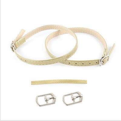 Women Shoelace No Tie Triangle Beam Leather Shoe Lace High-heels Shoelaces Buckle Shoe Bandage Shoelace Shoes Accessories