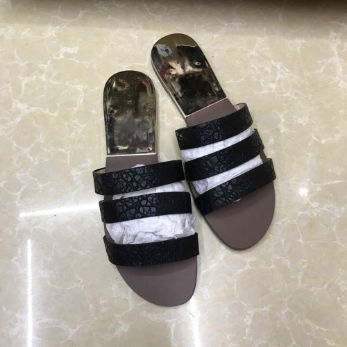 Women Summer Beach Shoes Soft Leather Slippers Women's Shoes Casual Women's